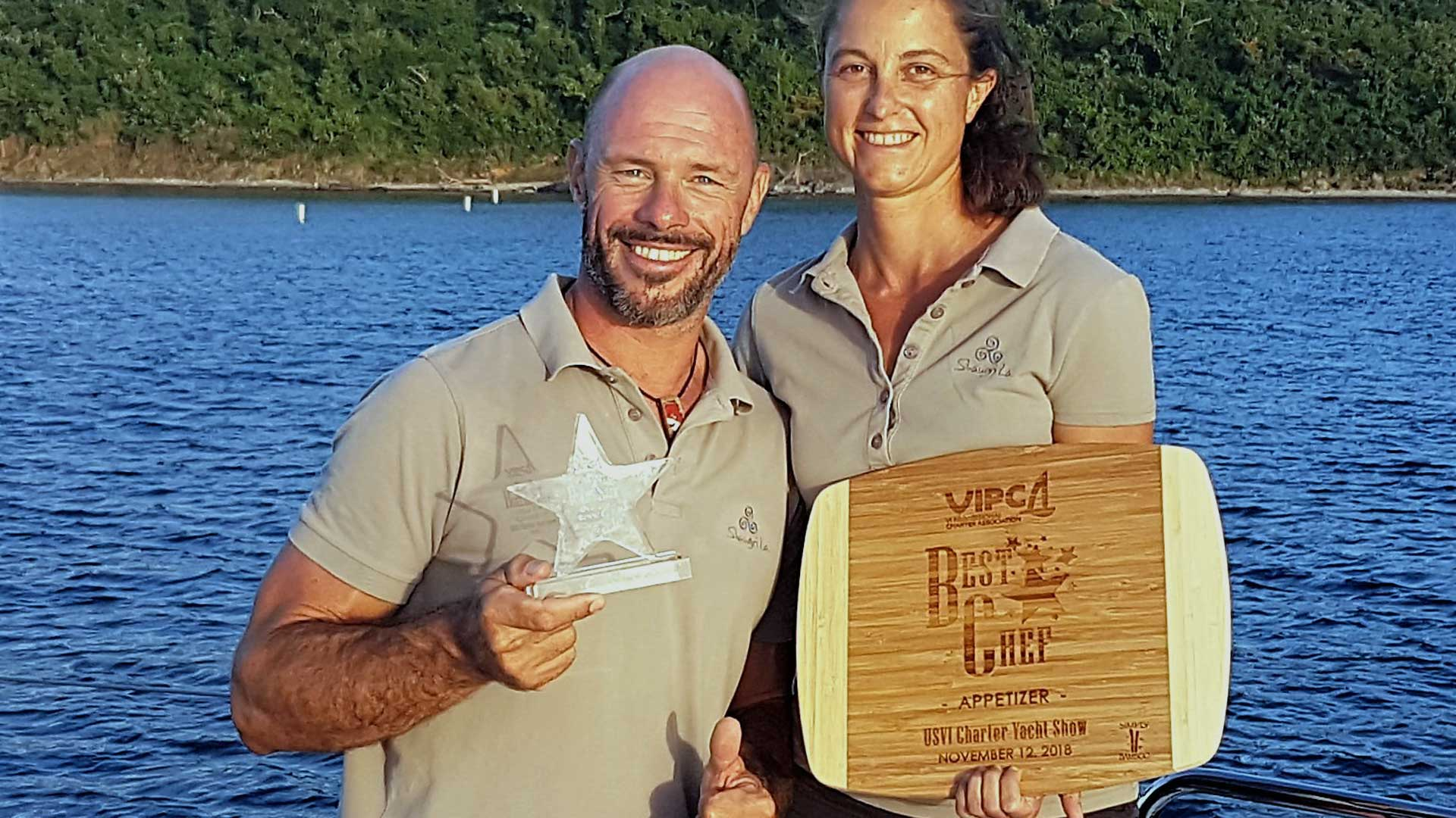 Award winning crew Shangri La
