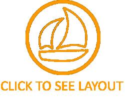 Crewed Charter Catamaran Layout - Shangri La